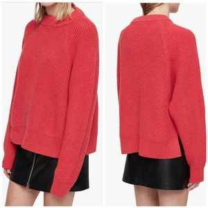 NEW All Saints Sylvie wool cashmere sweater